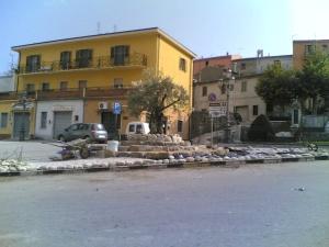 Piazza Dei Caduti vista dal bar Morano